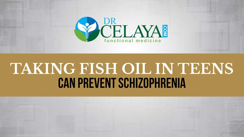 Taking fish oil in teens can help prevent schizophrenia