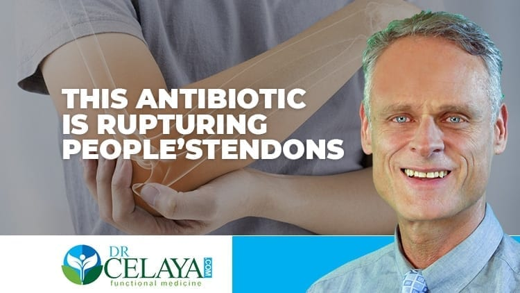 This antibiotic is rupturing people's tendons