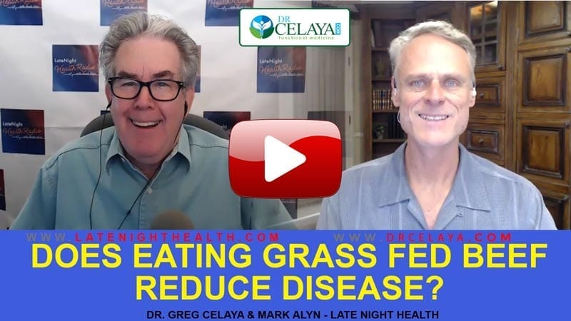 Does eating GRASS FED BEEF reduce DISEASE?