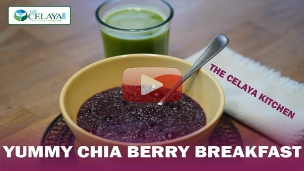 Yummy Chia Berry Breakfast