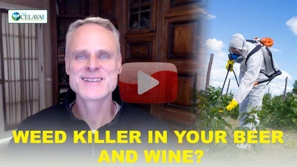 Weed killer in beer and wine?