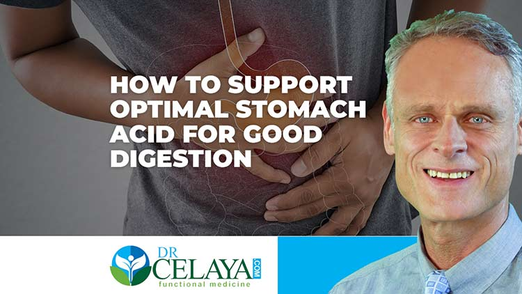 How to support optimal stomach acid for good digestion