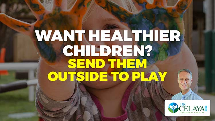 Want healthier children? Send them outside to play