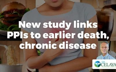 New study links PPIs to earlier death, chronic disease