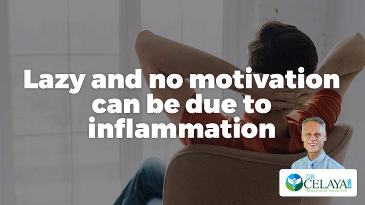 """Lazy"" and no motivation can be due to inflammation"