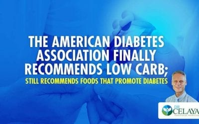The American Diabetes Association finally recommends low carb; still recommends foods that promote diabetes